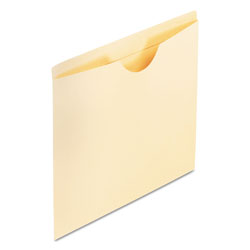 Pendaflex Reinforced Top Tab File Jackets, Flat Expansion, Legal, Manila, 100/Box