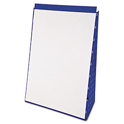 Ampad Tabletop Flip Chart Easel, Unruled, 20 x 28, White, 20 Sheets/Pad