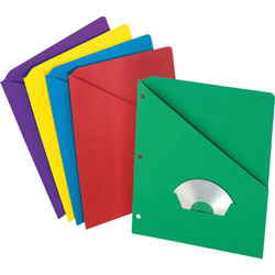Pendaflex Pocketed Indexed Sheet Dividers, Assorted Colors