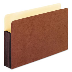 Pendaflex Watershed 5 1/4 Inch Expansion File Pockets, Straight Cut, Legal, Redrope