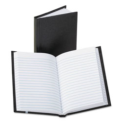 Boorum & Pease Pocket Size Bound Memo Book, Ruled, 3 1/4 x 5 1/4, White, 72 Sheets