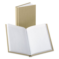 Boorum & Pease Handy Size Bound Memo Book, Ruled, 4-3/8 x 7, White, 96 Sheets