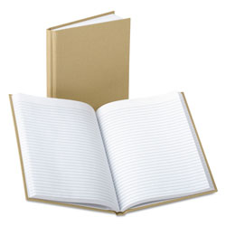 Boorum & Pease Handy Size Bound Memo Book, Ruled, 9 x 5-7/8, White, 96 Sheets