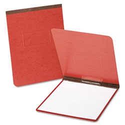 "Esselte PressGuard Coated Report Cover, Prong Clip, Letter, 2"" Capacity, Red"