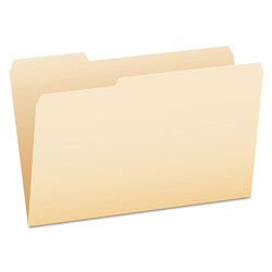 Pendaflex File Folders, 1/3 Cut Top Tab, Legal, Manila, 100/Box