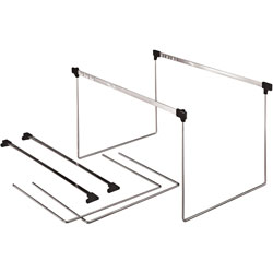 "TOPS Actionframe Drawer Frames, Adjustable 14"" 18"", Letter, Steel"