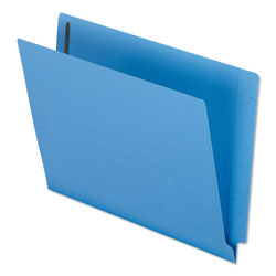 Pendaflex Reinforced End Tab Expansion Folder, Two Fasteners, Letter, Blue, 50/Box