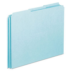 Pendaflex Top Tab File Guides, Blank, 1/3 Tab, 25 Point Pressboard, Letter, 100/Box