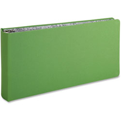 "Oxford Green Canvas Legal Ring Binder, 2"" Cap, 14 x 8 1/2, Green"