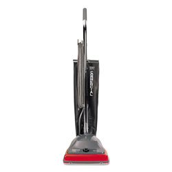 Eureka Sanitaire® Bag Style Lightweight Commercial Upright Vacuum, Red/Gray