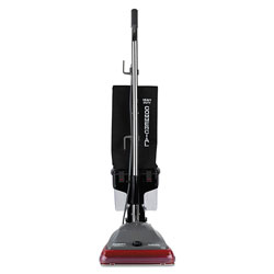 Eureka Sanitaire® Bagless Lightweight Commercial Upright Vacuum, Red/Gray