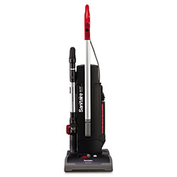 Eldon Electrolux Sanitaire Commercial Duralux Two-Motor Upright Vacuum, Red