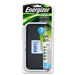Energizer CHFC Family Charger for AA, AAA, 4C, 4D or 2 9V NiMH Rechargeable Batteries