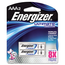 Energizer L92BP-2 Lithium Batteries, AAA