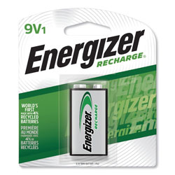 Energizer NH22NBP NiMH Rechargeable Battery, 9V