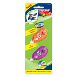 Sanford Correction Tape Dispenser, 5mmx6m, Assorted Colors