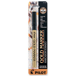 Pilot Marker, Permanent, Extra-fine, Gold