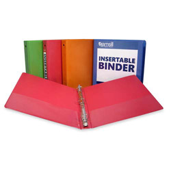"Samsill 44% Recycled D-Ring Binder, 1"" Capacity, Assorted Colors"