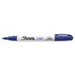 Sharpie® Permanent Paint Marker, Fine Point, Blue