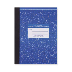 "Roaring Spring Paper Composition Book, College Ruled, 10-1/4""x7-3/4"", 80 Sheets"