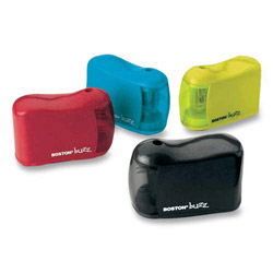 "Elmer's Pencil Sharpener, Uses ""AA"" Batteries, Assorted"
