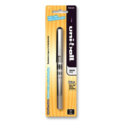 Uni-Ball Roller Ball Pen, Micro Point, Fade/Water Resistant, Black