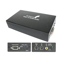 Startech Component / Composite / S-Video To VGA / HDTV Scaler / Converter - Scan Converter - 48 MB