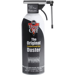 Falcon Safety plus compressed gas duster with reusable vector valve, 10 oz. can