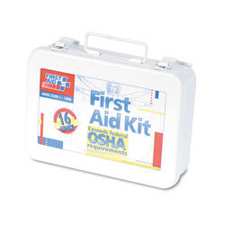 First Aid Only ANSI Compliant First Aid Kit with 16 Units