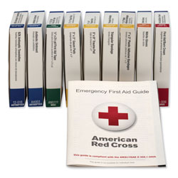 First Aid Only ANSI Compliant First Aid Kit Refill for 10 Unit First Aid Kits
