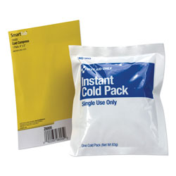 "First Aid Only Cold Compress, 4"" x 5"", 1 Each"