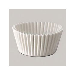 Dixie 15CX White Paper Baking Cups