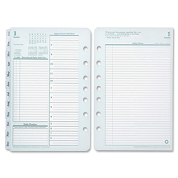 Franklin Covey Original Dated Daily Planner Refill, January-December, 8 1/2 x 11, 2018