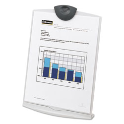Fellowes Copystand Copyholder/Clipboard, Desktop or Portable Use, Platinum