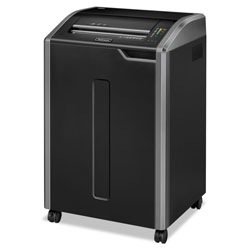 Fellowes 38480 C480 Continuous Use Strip Cut Paper Shredder, Light Gray/Black