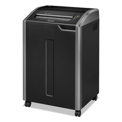 Fellowes 38485 Powershred® C 480C Continuous Use Confetti Cut Paper Shredder, Light Gray/Black