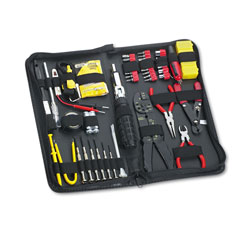 Fellowes 55 Piece Computer Tool Kit in Black Vinyl Zipper Case