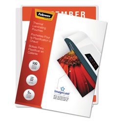 Fellowes 100PK 5MIL LETTER LAMINATING