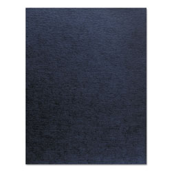 "Fellowes 70# Linen Texture Binding Covers, Navy, 11"" x 1/2"", 200/Pack"