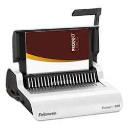 Fellowes Pulsar Binding Machine, Medium Duty, Gray