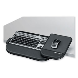 Fellowes Tilt 'N Slide Keyboard Manager with Comfort Glide, 19-1/2 x 11-1/2, Black