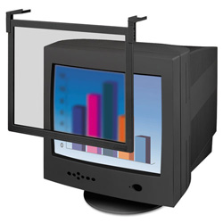 "Fellowes Standard Filter for 16 17"" Monitor Screen, Antiglare, Traditional Tint, Black"