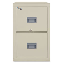 Fireking Patriot Insulated 2-Drawer Fire File, 17-3/4w x 25d x 27-3/4h, Parchment