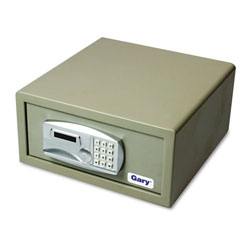 Fireking Laptop Computer Steel Safe, Electronic Lock, Light Gray