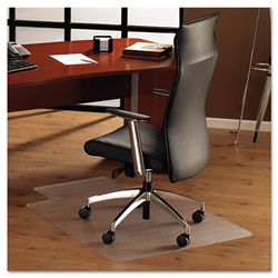 Floortex ClearTex Chair Mat For Hard Floors, 48w x 53h, Clear