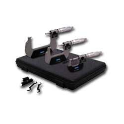 Fowler Digital Counter Outside Micrometer Set 0 3""