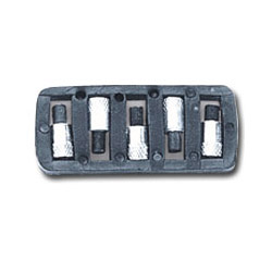 Firepower Flints For Single Flint Spark Lighter, 5 Pack