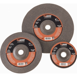 "Firepower Type 27 Depressed Center Grinding Wheel, 4-1/2"" x .045"" x 7/8"""