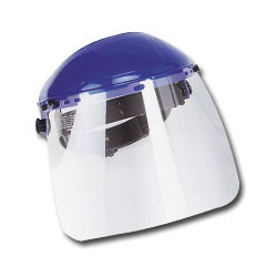 "Firepower Face Shield w/Clear Window, 8"" x 12"" x .040"