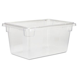 Rubbermaid 5 Gallon Clear Food Box